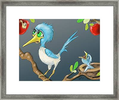 Breakfast Framed Print by Hank Nunes