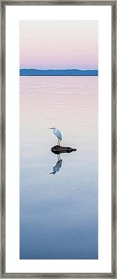 Breaking Dawn Framed Print by Az Jackson