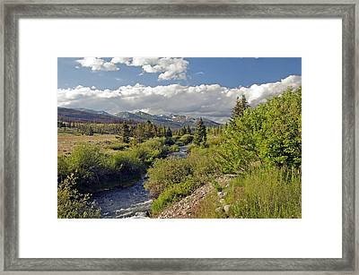 Breckenridge Colorado Framed Print by James Steele