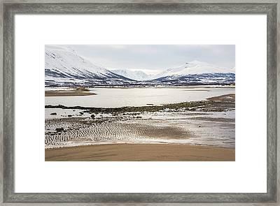 Breivik Nature Reserve Troms Norway Framed Print