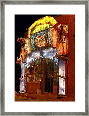 Brewery Gulch Color In Bisbee Framed Print
