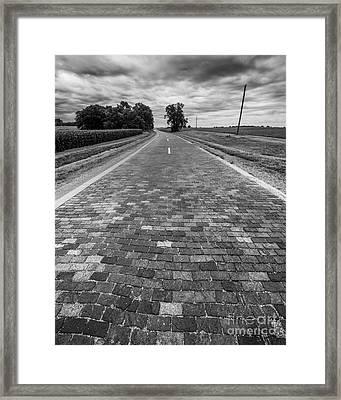 Brick 66 Framed Print by Twenty Two North Photography