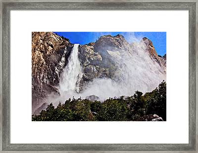 Bridalveil Fall Yosemite Valley Framed Print by Garry Gay