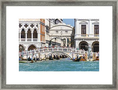 Bridge Of Sighs Framed Print by Svetlana Sewell
