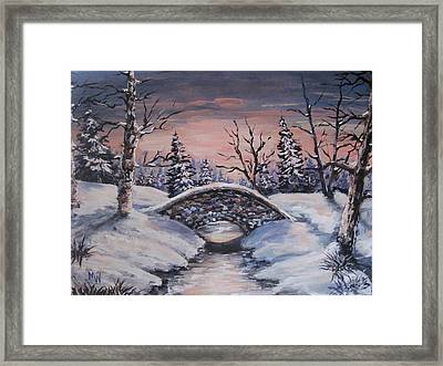 Bridge Of Solitude Framed Print