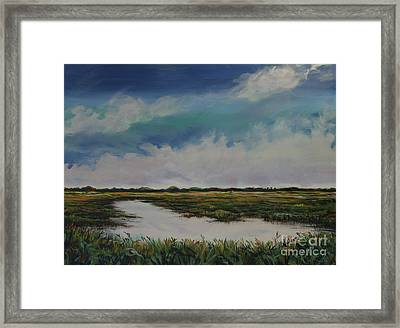 Bright Blue Day Framed Print by Michele Hollister - for Nancy Asbell