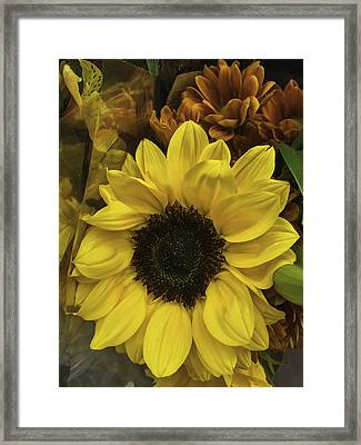 Bright Bouquet Framed Print