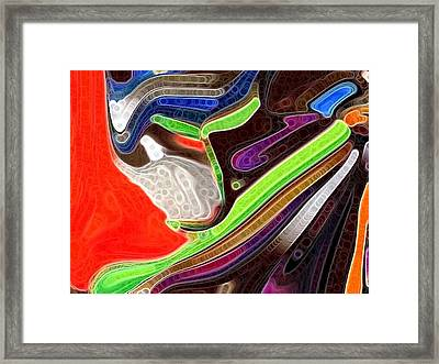 Bright Colors Framed Print by HollyWood Creation By linda zanini