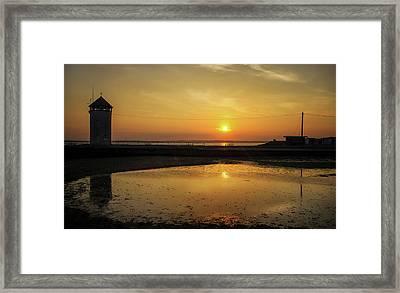 Brightlingsea Beach Framed Print