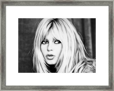Brigitte Bardot Collection Framed Print