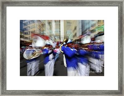 Bring On The Brass Band 2 Framed Print