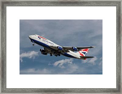 British Airways Boeing 747-436 Framed Print