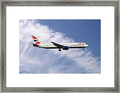 British Airways Boeing 767-336 Framed Print