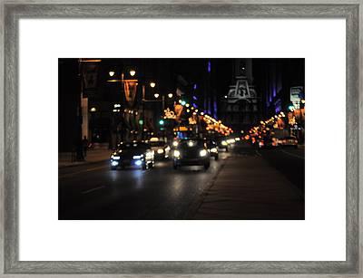 Broad Street Framed Print by Brynn Ditsche