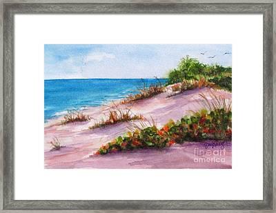 Brohard Beach Framed Print by Suzanne Krueger