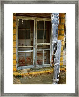 Broke Framed Print by Lynne and Don Wright