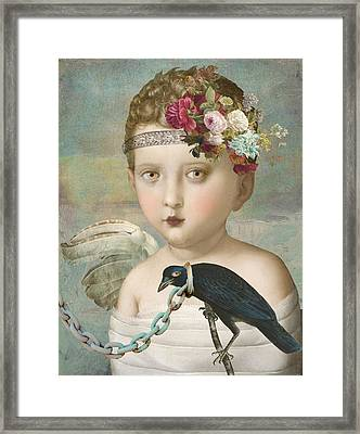 Broken Wing Framed Print by Lisa Noneman