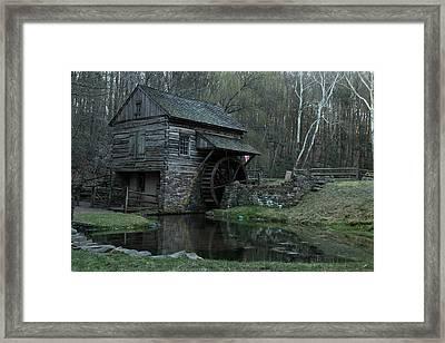 Bromley's Mill Framed Print by Roland Kemler
