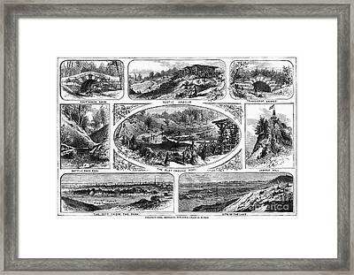 Brooklyn: Prospect Park Framed Print by Granger