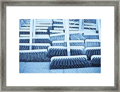 Brooms Framed Print