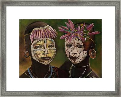 Brothers Framed Print