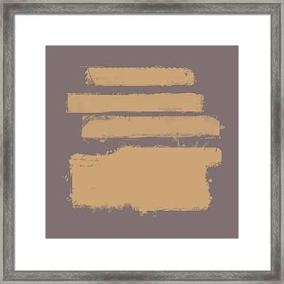 Brown On Brown Framed Print