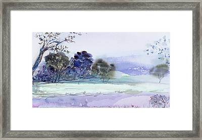 Bruny Island At Dusk Framed Print