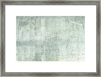 Brushed Metal Framed Print by Tom Gowanlock