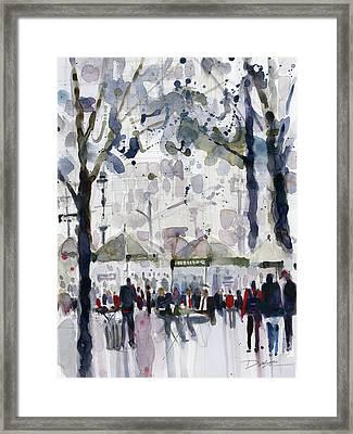 Bryant Park, New York City Framed Print