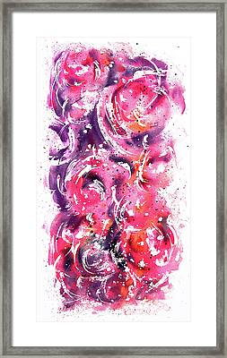Bubbles Framed Print by Rachel Christine Nowicki