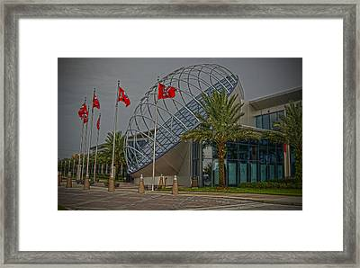 One Buc Place Framed Print by Chauncy Holmes