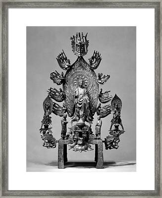 Buddhist Altarpiece Framed Print by Granger