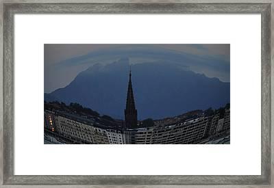 Buen Pastor Cathedral  Framed Print by Tara Miller
