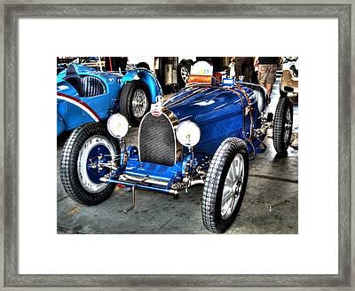 Bugatti Framed Print