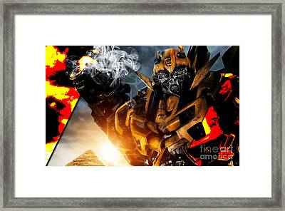 Bumblebee Collection Framed Print