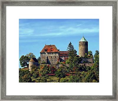 Burg Colmberg Framed Print