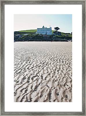 Burgh Island Framed Print by Graham Custance