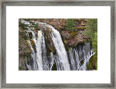 Burney Falls Framed Print