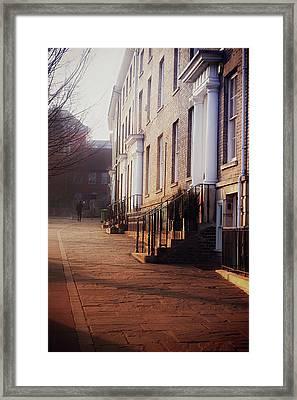 Bury St Edmunds Buildings Framed Print