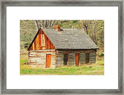 Butch Cassidy's Family Homestead Framed Print by Dennis Hammer