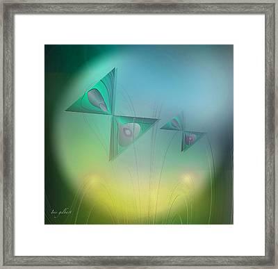 Butterflies 4 Framed Print by Iris Gelbart