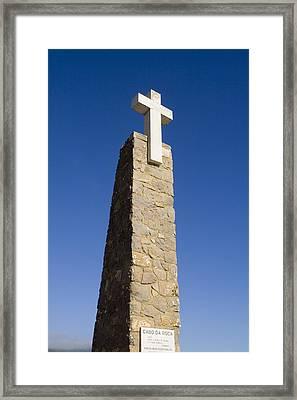 Cabo Da Roca Framed Print by Andre Goncalves