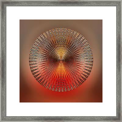 Cadence Framed Print by Peter Lloyd