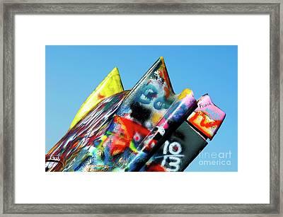 Cadillac Ranch 2 Framed Print by Bob Christopher