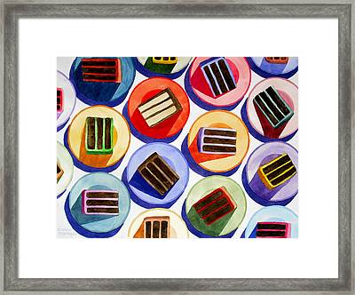 Cake For Everyone Framed Print by Cory Clifford