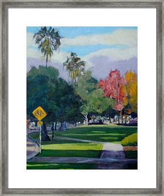Cal Tech Framed Print by Richard  Willson