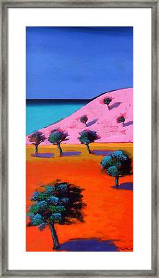 Cala Lena Framed Print by Paul Powis
