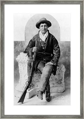 Calamity Jane, American Frontierswoman Framed Print by Science Source