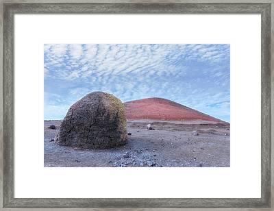 Caldera Colorada - Lanzarote Framed Print by Joana Kruse