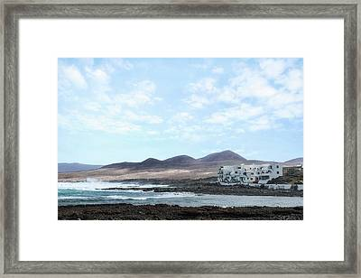 Caleta De Caballo - Lanzarote Framed Print by Joana Kruse